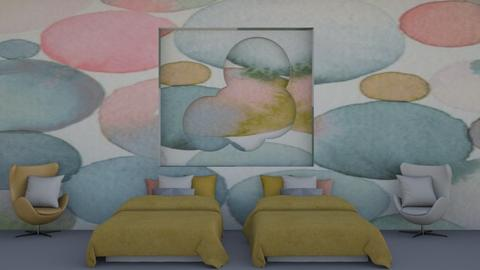 Bubble_CONTEST - Bedroom  - by Aristar_bucks
