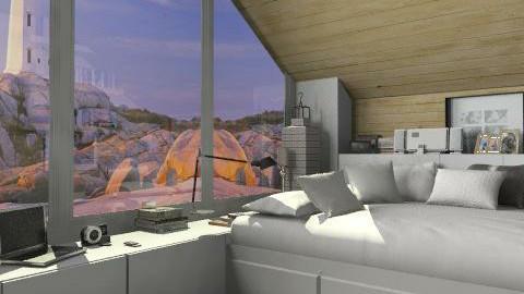 Wooden  - Bedroom  - by annagunbina