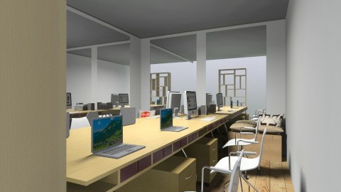 Innovation Lab - Eclectic - Office  - by Lolitya Anindita