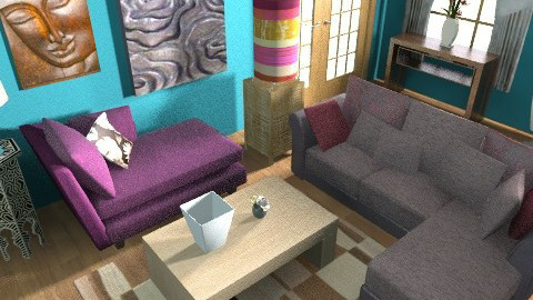 my living room - Glamour - Living room  - by sally89