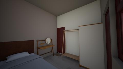 Kamar Ramdhan 1 abu abu - Minimal - Bedroom  - by mcramdhan