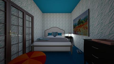 Xiomara Extra Credit Room - Classic - Bedroom  - by Xiomara_12