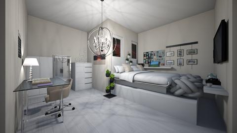 aesthetic_ish room  - Bedroom  - by 1D wolfgal