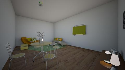 retro living room - Retro - Living room  - by hh104