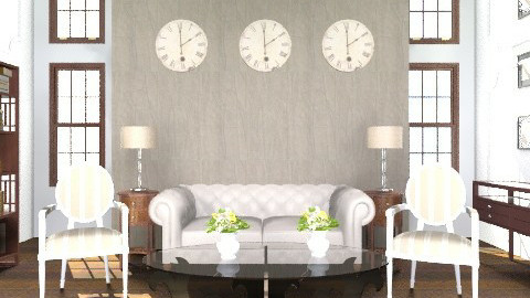 Hamptons Life - Classic - Living room  - by Baustin