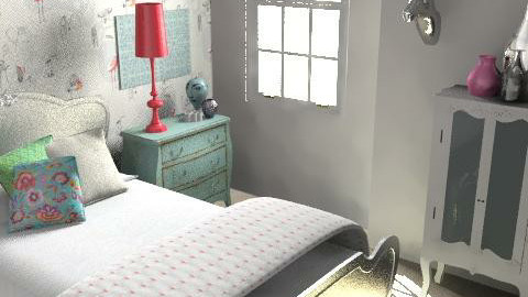 Morshead Mansions9 - Eclectic - Bedroom  - by pia