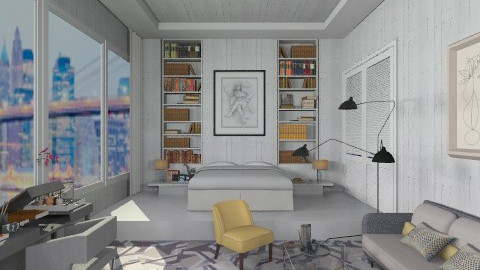 Signature Suit - Eclectic - Bedroom  - by AlSudairy S