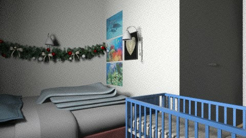 chrismas room 88 - Modern - Bedroom - by sydneysky