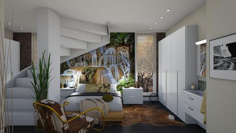 The Wall - Modern - Bedroom  - by janip