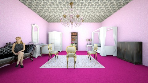 Lady Ginevra Smith - Glamour - Bedroom - by GinevraS