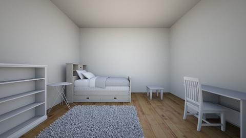 My Room - Minimal - Bedroom - by sophia1201