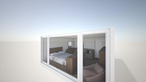 Dormitor v1 - Bedroom - by krokswell