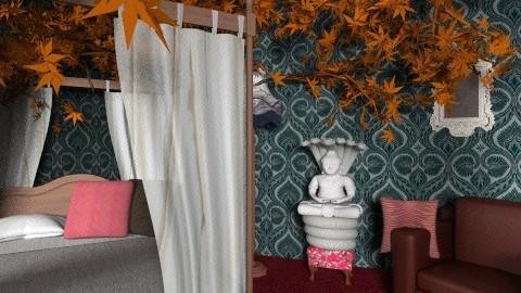 Kenya Room - Rustic - Bedroom  - by copycat