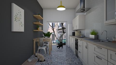 Little Kitchen - Kitchen  - by Val Val
