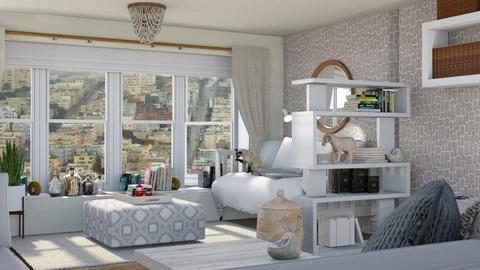 Love to read - Feminine - Living room  - by augustmoon