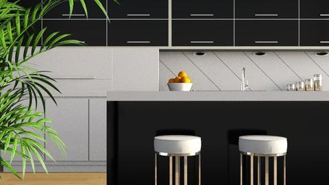 Gloss Black - Modern - Kitchen  - by stephendesign