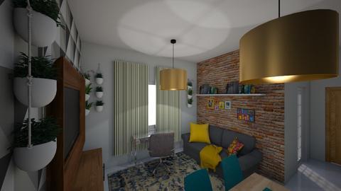 Sala 1 - Living room  - by Franciele Oliveira