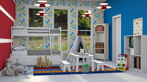 Primary Playroom - Kids room  - by millerfam