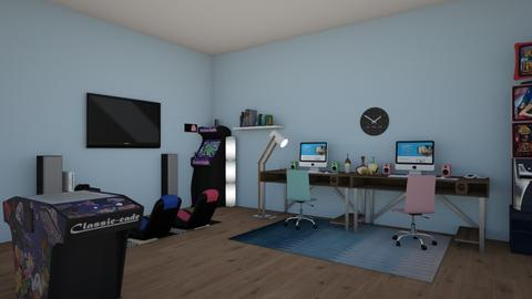 Video Gamers - Retro - Kids room  - by 29catsRcool