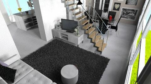 living room - Living room - by pyksio