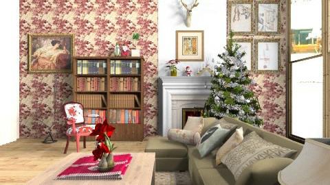 At Christmas Time - Classic - Living room  - by teodorstajkov