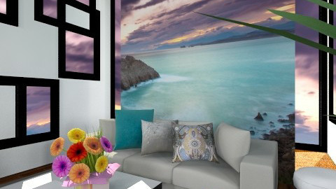 Crisp - Minimal - Living room  - by TammieLynne