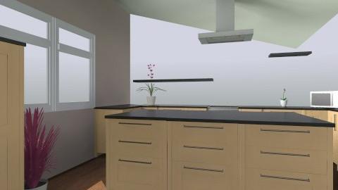 Mathews Kitchen - Eclectic - Kitchen  - by schroder94