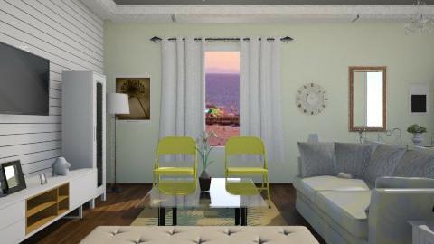 santa monica - Living room - by AngelaBujanovic