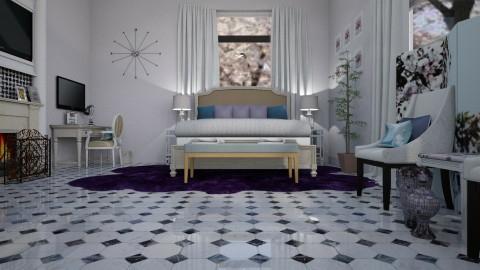 A  Classic Deep Sea - Classic - Bedroom  - by decordiva1