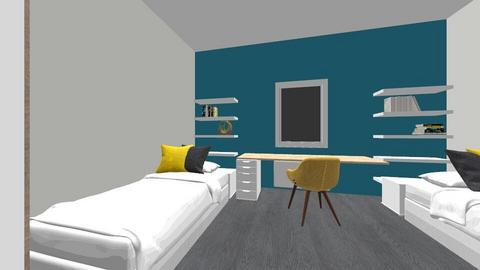 dormitories - Minimal - Bedroom  - by mimieee