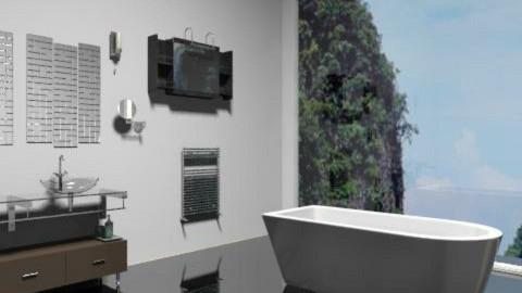 Bathroom - Modern - Bathroom  - by rosiedoll