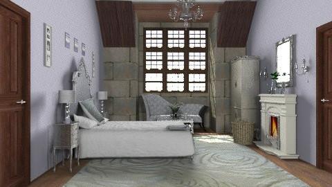Attic castle bedroom - Eclectic - Bedroom  - by alleypea