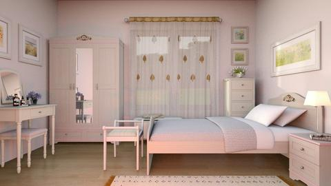 Flat 24 Bedroom Remix - Classic - Bedroom  - by Sally Simpson