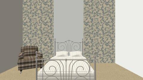 Guest room - Vintage - Bedroom  - by mitmar6369