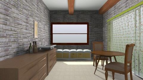 Guillaume kitchen - Rustic - Kitchen  - by coccinelledu28