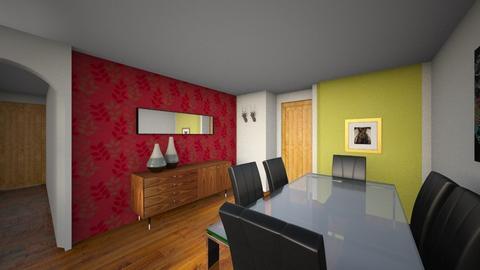 sala clara papel 01 - Living room - by Alvaro Carrizosa Clavijo