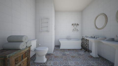 vintage - Bathroom - by Dibiduu