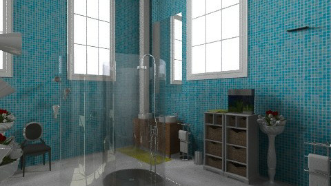 Dream Studio_bathroom - Vintage - Bathroom  - by Eline Schoe