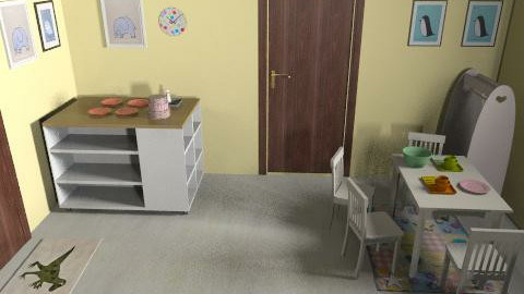 ici daycare v3k - Vintage - Kids room  - by mehar
