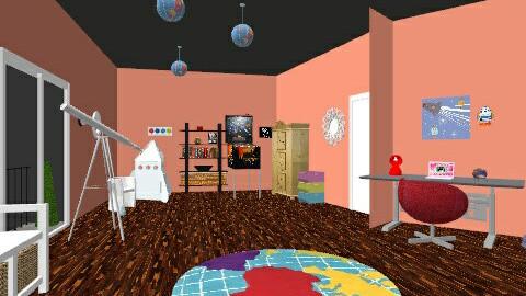 science room - Modern - Kids room  - by niamh1803