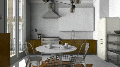 ghh - Eclectic - Kitchen - by mannu