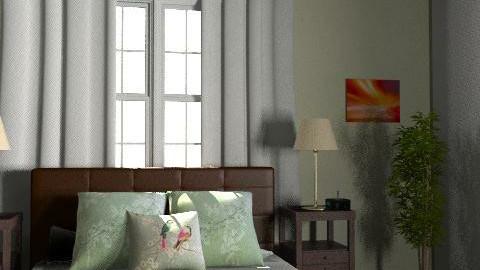 cama - Country - Bedroom  - by akashareikiana