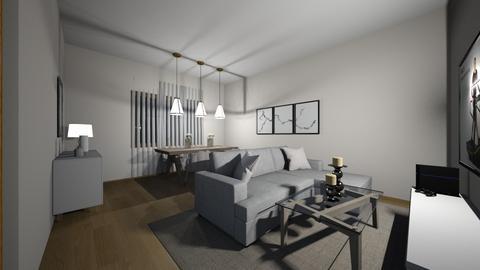 MINHA SALA DE SONHOS - Living room  - by matildepeixoto