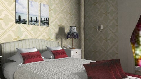 hotel room - Classic - Bedroom - by architect_09