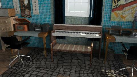 I heard you like music - Modern - Office  - by vadmacsek95