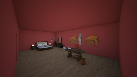 Sofia Velazquez and Reed - Bedroom - by RitchieValens640