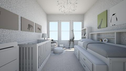 baby - Minimal - Kids room  - by nataliaMSG