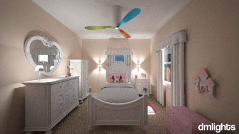 PrincessQuarters - Glamour - Kids room  - by DMLights-user-1038281