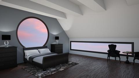 Master Attic - Bedroom - by robharbs