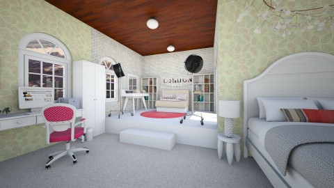 Big Bedroom Girl - Modern - Bedroom  - by florci_02